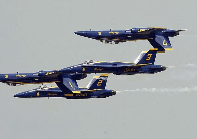 Blue Angels de la Armada de EEUU