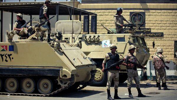 Soldados del Ejército de Egipto (archivo) - Sputnik Mundo