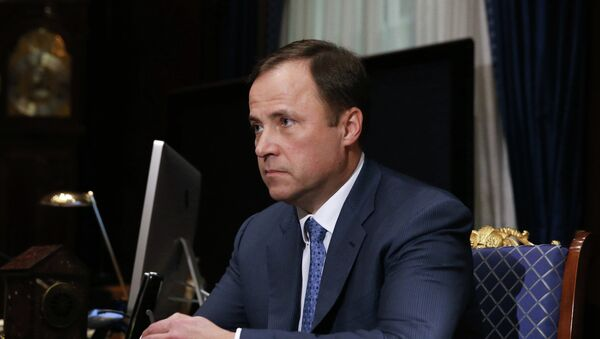 Ígor Komarov, jefe de la corporación rusa - Sputnik Mundo