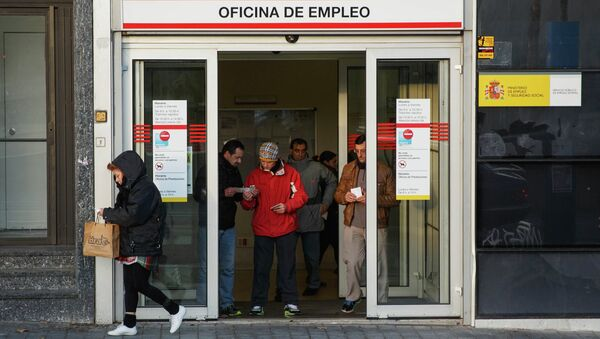 Oficina del empleo en Madrid - Sputnik Mundo