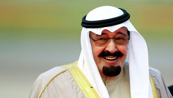 Abdalá bin Abdelaziz - Sputnik Mundo