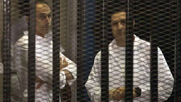 Hermanos Gamal y Alaa Mubarak - Sputnik Mundo