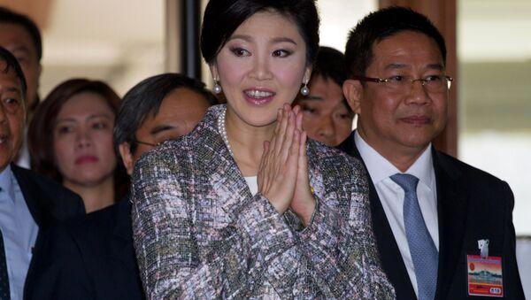 Yingluck Shinawatra, ex primera ministra de Tailandia (archivo) - Sputnik Mundo