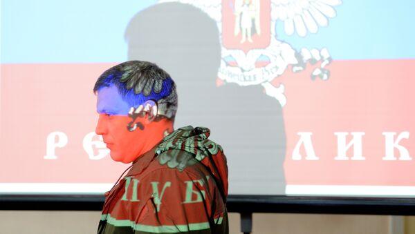 Alexandr Zajárchenko, líder de la autoproclamada República Popular de Donestk (RPD) - Sputnik Mundo