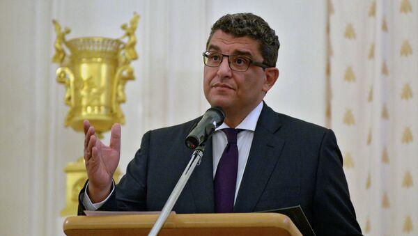 Mohamed al Badri, embajador de Egipto en Rusia - Sputnik Mundo