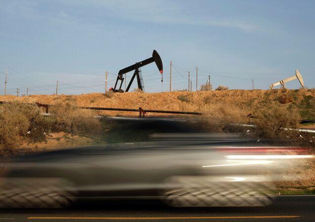 Extracción de petróleo en EEUU