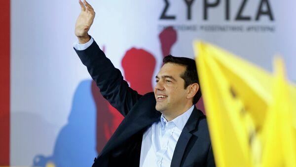 Alexis Tsipras, primer ministro de Grecia y líder del partido Syriza - Sputnik Mundo
