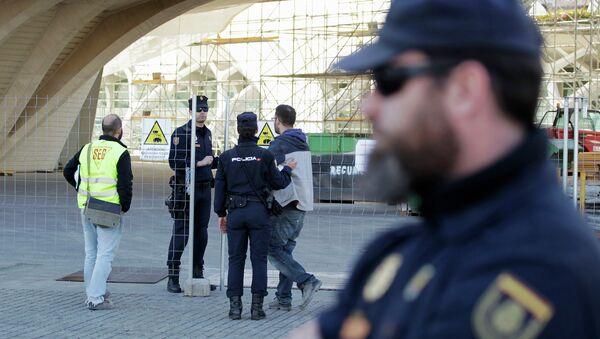 Policía española - Sputnik Mundo