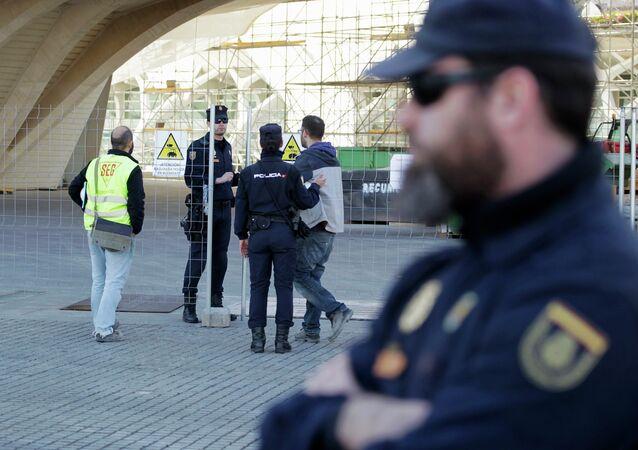 Policía española (archivo)