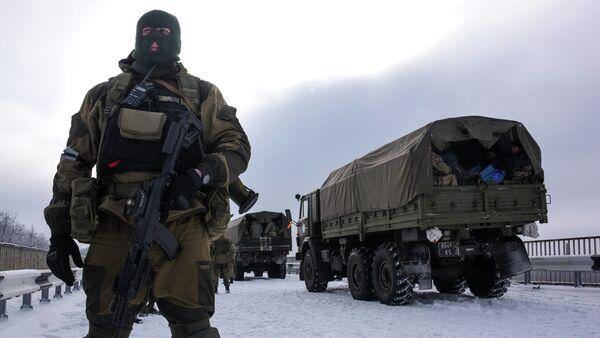 Las milicias de Donetsk (Archivo) - Sputnik Mundo
