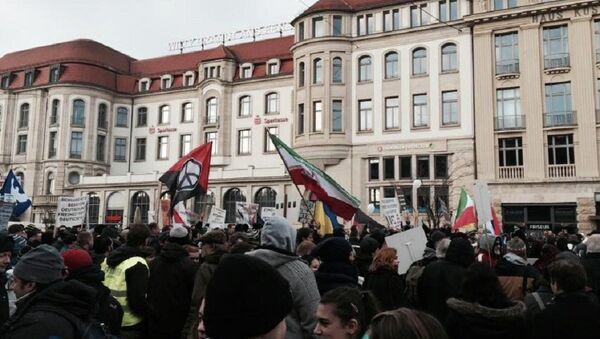 Celebran en Alemania una protesta contra la 'americanización de Occidente' - Sputnik Mundo