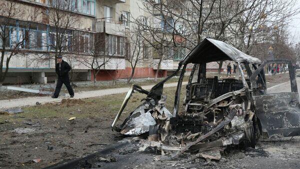 Situación en la ciudad de Mariúpol - Sputnik Mundo