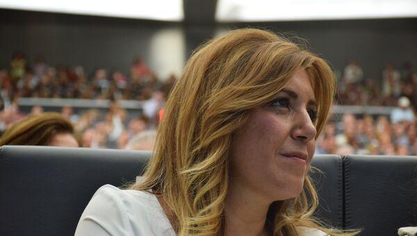 Susana Díaz, presidenta de Andalucía - Sputnik Mundo