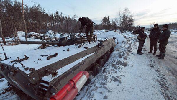 El Ejército ucraniano y las milicias se acusan de recibir múltiples ataques en un solo día - Sputnik Mundo