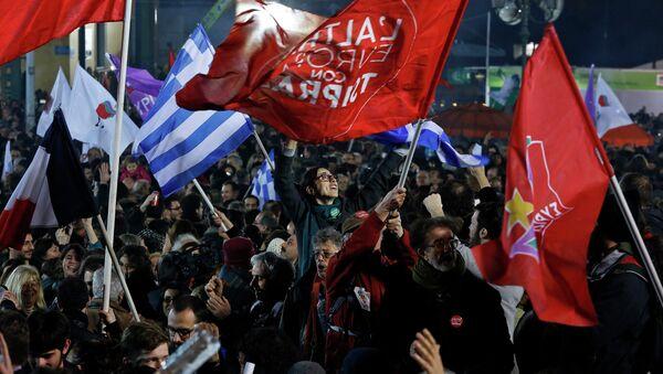 La victoria de Syriza - Sputnik Mundo