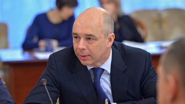 Ministro de Finanzas de Rusia, Antón Siluánov - Sputnik Mundo