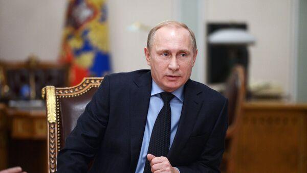 Presidente de Rusia, Vladímir Putin - Sputnik Mundo