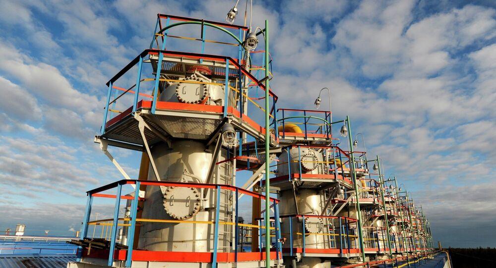 Gazprom analiza guardar el gas ruso en depósitos subterráneos de Hungría