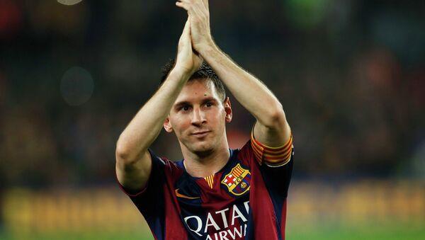 Lionel Messi, futbolista del Barça - Sputnik Mundo