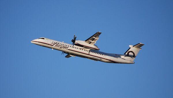 Avión Q400 - Sputnik Mundo