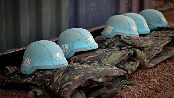 Uniforme de los cascos azules de ONU - Sputnik Mundo