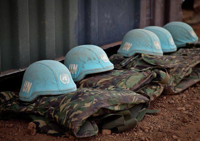 Uniforme de los cascos azules de ONU