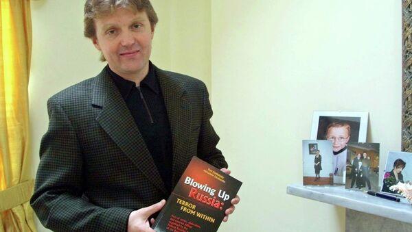 Alexander Litvinenko, exagente de seguridad ruso - Sputnik Mundo