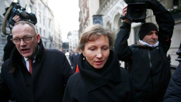 Marina, viuda del ex oficial del KGB Alexandr Litvinenko - Sputnik Mundo