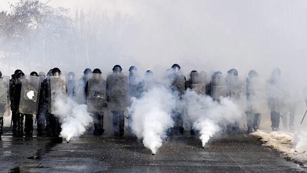 European Union police - Sputnik Mundo