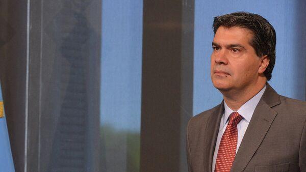 Jorge Capitanich, jefe del Gobierno de Argentina - Sputnik Mundo