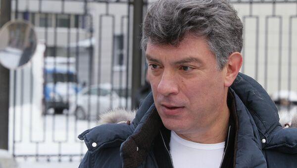 Борис Немцов вызван на допрос в Следственный комитет - Sputnik Mundo