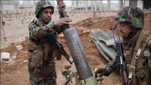 Kurdos en Kobani (archivo) - Sputnik Mundo