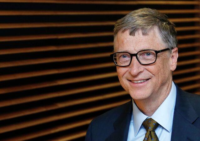 El multimillonario estadounidense Bill Gates