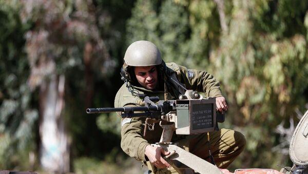 Militar israelí - Sputnik Mundo
