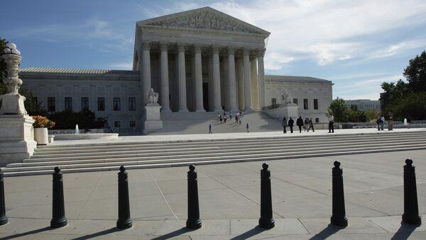 Tribunal Supremo de EEUU (archivo) - Sputnik Mundo