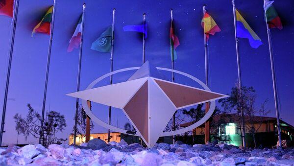 Banderas de los paises- miembros de la Alianza Atlántica - Sputnik Mundo