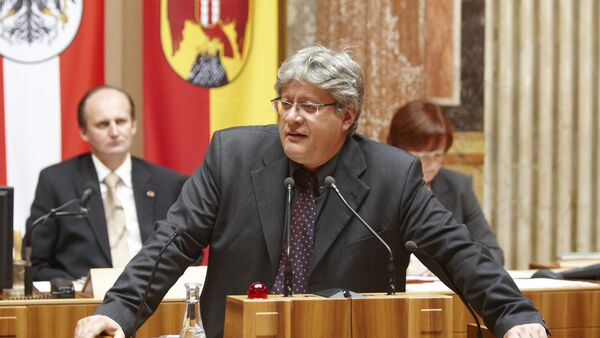 Stefan Schennach (Archivo) - Sputnik Mundo