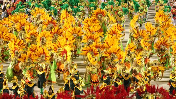 Carnaval en Río de Janeiro, Brasil (archivo) - Sputnik Mundo