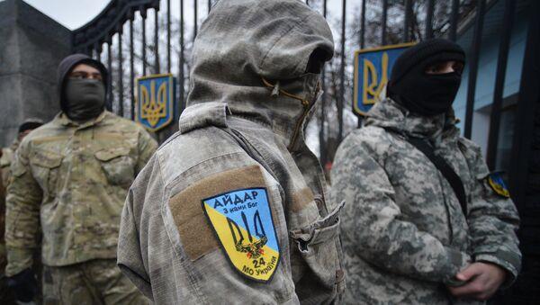 Combatientes del batallón Aidar - Sputnik Mundo