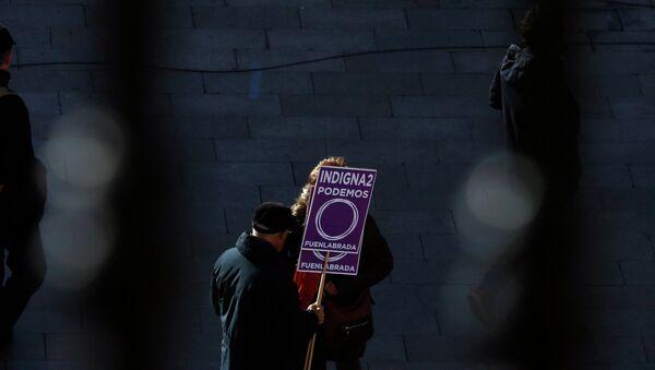 Arranca en Madrid la Marcha del Cambio de Podemos - Sputnik Mundo