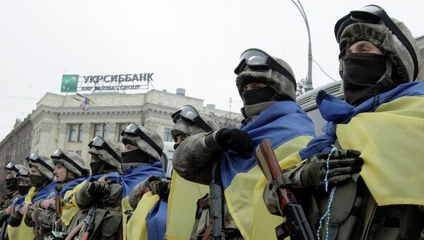 Efectivos de las FFAA de Ucrania (archivo) - Sputnik Mundo