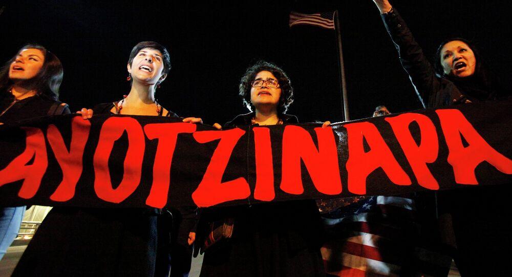 Desaparición forzada de 43 estudiantes de Ayotzinapa (archivo)