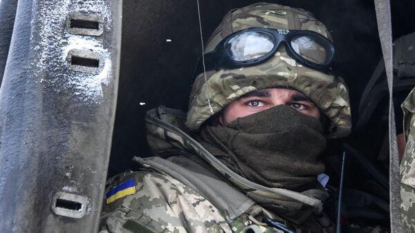 Militar ucraniano - Sputnik Mundo