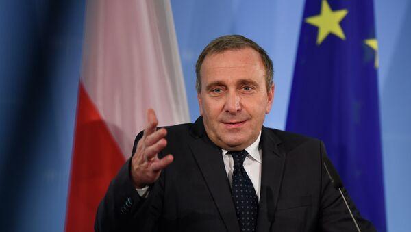 Grzegorz Schetyna, ministro de Exteriores de Polonia - Sputnik Mundo