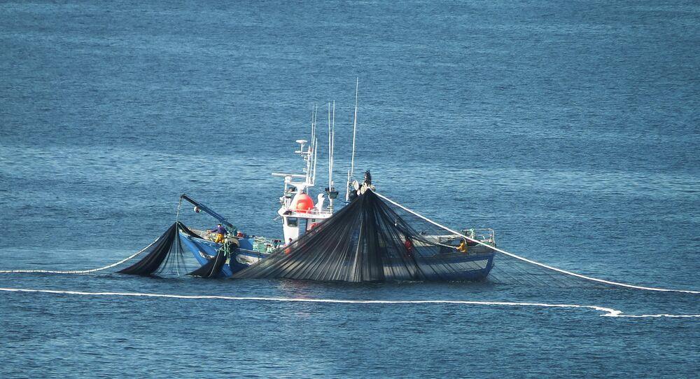 Un barco pesquero (Archivo)