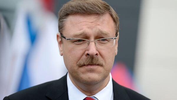 Konstantín Kosachov, presidente del Comité de Asuntos Exteriores del Consejo de la Federación - Sputnik Mundo