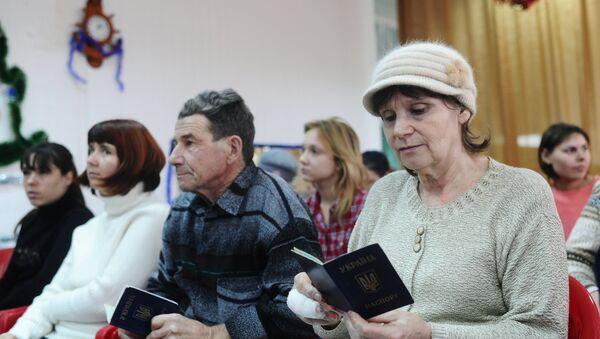 Социальные выплаты беженцам с Украины в Ростовской области - Sputnik Mundo