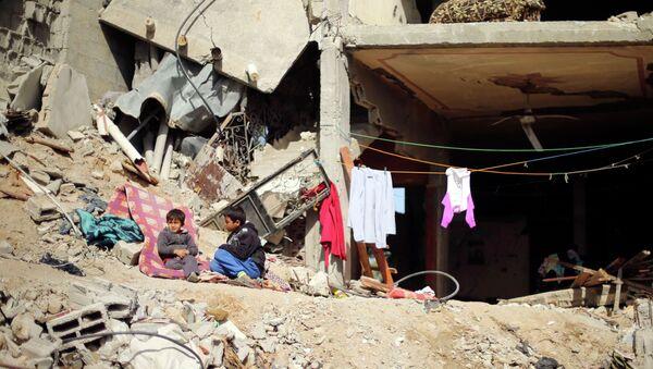 Un chico palestino (archivo) - Sputnik Mundo