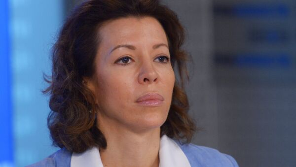 Veronika Krashenínnikova, importante funcionaria de Rossiya Segodnya - Sputnik Mundo