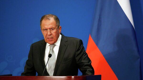 Russian Foreign Minister Sergei Lavrov - Sputnik Mundo